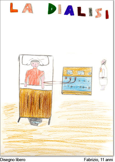 Il disegno di Fabrizio, 11 anni.